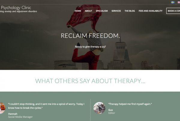 Bell Yard Psycology Clinic - Webhubb Web Design Northwood Hills