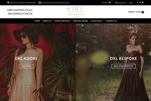 DKL London - Webhubb Web Design Northwood Hills